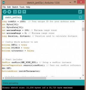 Arduino-sensor-selector