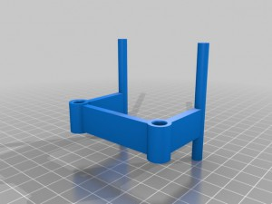 Wanhao Duplicator 2 filament guide