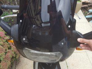 Suzuki GSX600f katana mirror extender