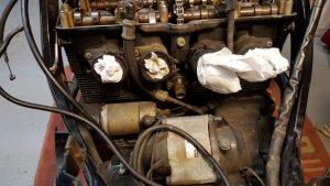 Suzuki GSX600f valve cam chain tensioner