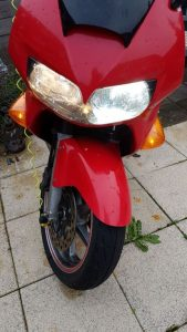 Honda vfr800 cree led headlight