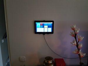 Galaxy tab 10.1 wall mount