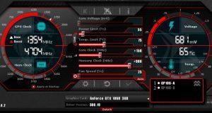 MSi afterbuner GTX 1060 3GB windforce