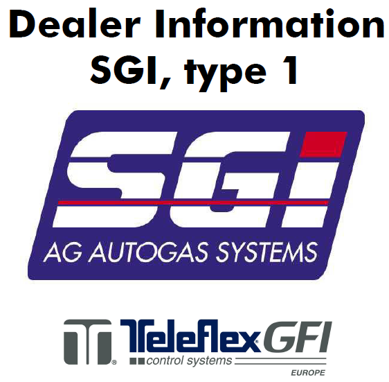 AG SGI manuals LPG